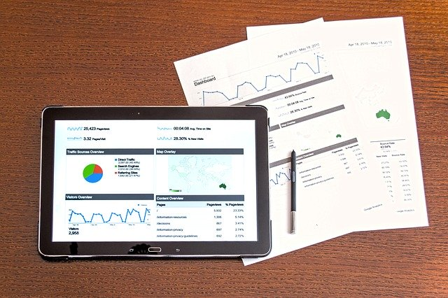 投資のポートフォリオの分析