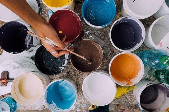 画家の画材
